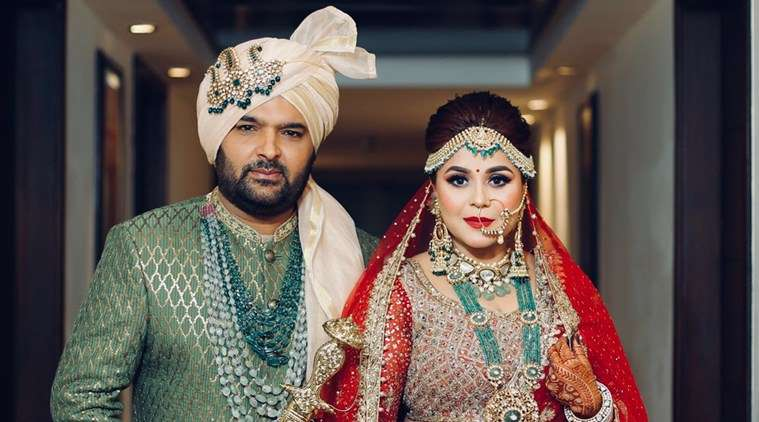 kapil sharma wedding image