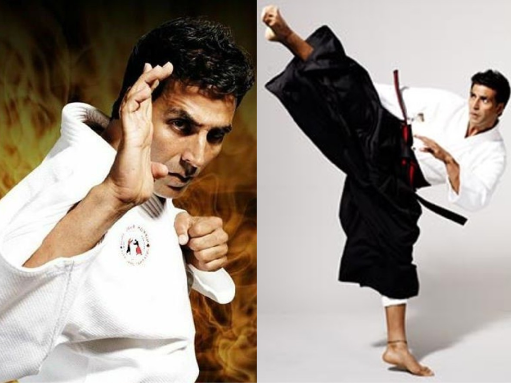 Akshay Kumar black belt